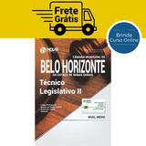 Apostila Técnico Legislativo Câmara Belo Horizonte Mg 2017