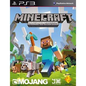Mine Digital Minecraft    Ps3    Tenelo Ya!! Digital Maincra
