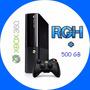Xbox 360 R G H + Juegos 500gb