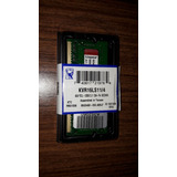 Memoria Ram Kingston 4gb Ddr3l 1600mhz 1.35v P/notebook