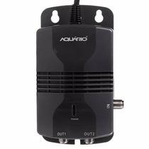 Amplificador Sinal Antena Aquario Al-1020 Hdtv 2 Saidas