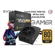 Fuente Gamer Evga 750w Gq 80 Plus Gold (210-gq-0750)