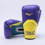 Luvas Muay Thai Roxa - Equipamentos e Acessórios para Artes Marciais ... 7a05cf5dbba87
