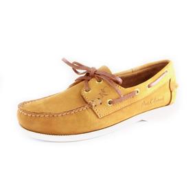 Zapatos Nauticos Mocasines Peskdores Oro Or00022