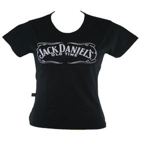 Baby Look Jack Daniel 819 Bandalheira Rock Banda Whisky