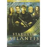 Box - Stargate Atlantis - Quarta Temporada - 5 Dvds- Lacrad