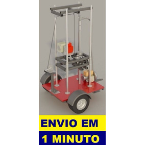 Projeto Máquina De Furar Poço Semi-artesiano - Frete Grátis