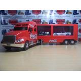 Camion Portacohes De Cocacola International Con Dos Autos Co
