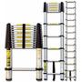 Escada Articulada Retrátil Aluminio 3,8 Mts 12 Degraus