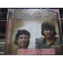 Cd Joao Mineiro & Marciano *seleçao Sertaneja Vol.2