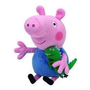 Peppa Pig Pelúcia P 20cm  George Pig  Dtc