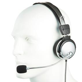 Fone De Ouvido Headphone Com Microfone P2 Lan House Gamer