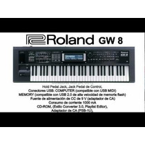 Roland Gw8 Manual En Español
