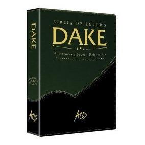 Bíblia De Estudo Dake Dicionário Expandido Capa Lançamento.