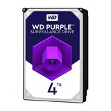 Disco Duro Western Digital Purple Surveillance, 4tb, Sata 6.