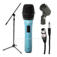 Microfono Dinamico + Pie + Pipeta + Cable Combo Envio Gratis