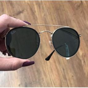 Ray Ban Round Espelhado Verde De Sol - Óculos no Mercado Livre Brasil 0a44dcf87f