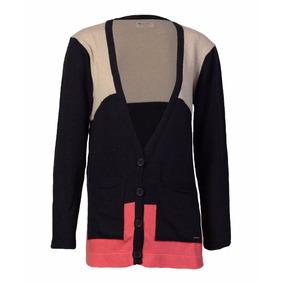 Saco Cardigan Sweater Brooksfield Mujer Moda Tejido Bm04068z