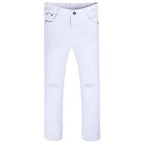 Niñas De Moda Pantalones Vaqueros Ajustados Apretados Rippe
