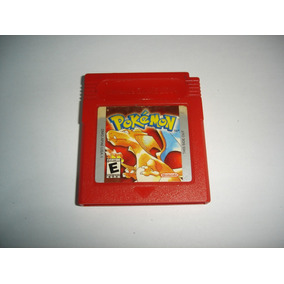 Pokemon Vermelho Red Original Salvando Gameboy Color C01