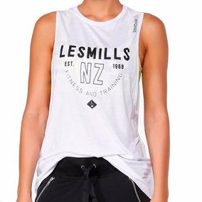 Playera Studio Les Mills Muscle Mujer Reebok Az0241