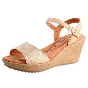 Sandalia Reindeer Cuero Femenina Zapato Mujer Calzado Tacon
