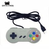 Control Usb Nintendo Retro Pc Y Mac Snes Juega Con Emulador