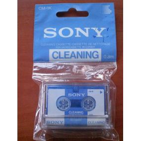Limpia Cabezales Sony Para Minigrabadora Cm-1k
