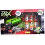 Pistola Power Max Con Mira Simil Laser 4 Cartas Can Buster