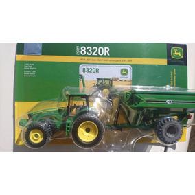 Ertl Tractor Johndeere Con Remolque De Grano Mod 2009