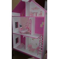 Casas De Muñecas Barbie 120 X 80 X 30 Prof. Mdf 12mm