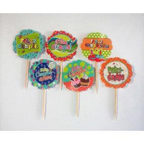 Minis Piropos Toper Para Fiestas Cupcake