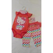 Conjunto Hello Kitty Para Bebita