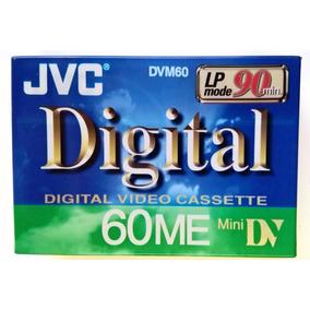 Cassette Jvc 60/90min Para Camcorders Dvc Hecho En Japon