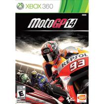 Moto Gp 14 Xbox 360 Gp14 Corrida Original Lacrado