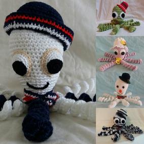 Polvo Amigurumi Boneco Crochê Especial Bebês -pronta Entrega 6e2b0247c12