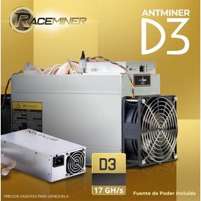 Antminer D3 + Fuente De Poder _ Nuevas
