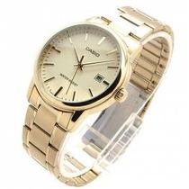 Relojes Casio Mtp Dorados Importadora Nuevos