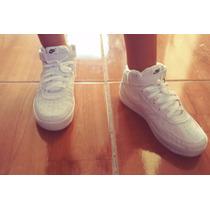 Tenis Nike Botinha Cano Alto Air Force Infantil
