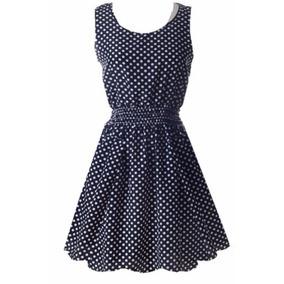 Vestido Moda Coreana De Gasa Para El Verano Fresco Modr035