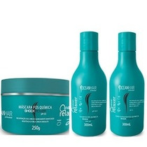 Kit Wave Relaxer Pós Quimica Home Care Ocean Hair