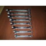 Lote De 8 Llaves Combinadas Sears Tipo Bahco / Oferta