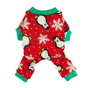Fitwarm Ropa Linda Del Pingüino De Navidad Del Animal Domés