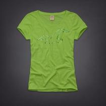 Camiseta Hollister Feminina Polo Blusa Frio Gap Abercrombie