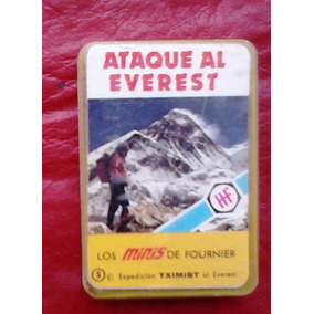 Minis De Fournier Ataque Al Everest. Local A La Calle
