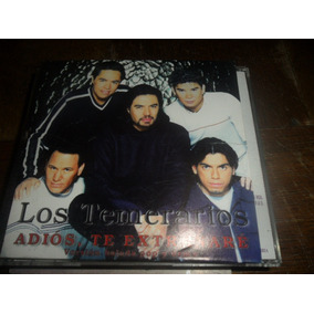 Cd Single Los Temerarios Adios Te Extrañare Ver Demo Y Pop