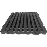 Kit 20 Pc Deck Plastico Cor Preto 4,5x50x50 Cm Piscina