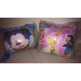 Cojin Almohada Hadas Tinken Bell Mickey Mouse Disney