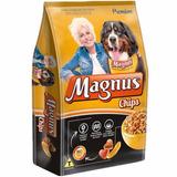 Ração Magnus Chips Para Cães Adultos 25kg