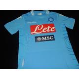 Camisa Napoli Home 2014/15 Tam. P